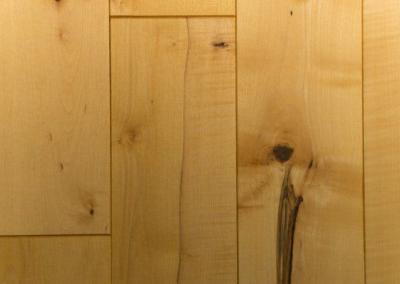 Ahorn Holzdielen Boden