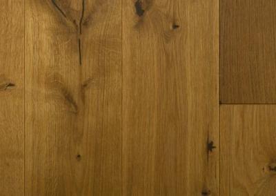 Holz Bodenbelag Eiche massiv