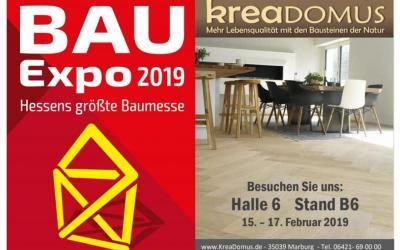 15.02.2019 – 17.02.2019 BauExpo in den Gießener Hessenhallen