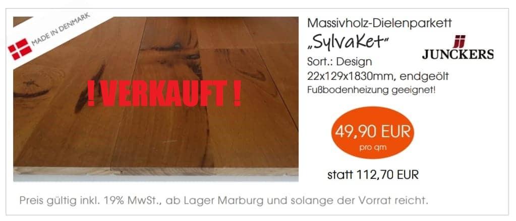 "Massivholz -Dielenparkett ""SylvaKet"""