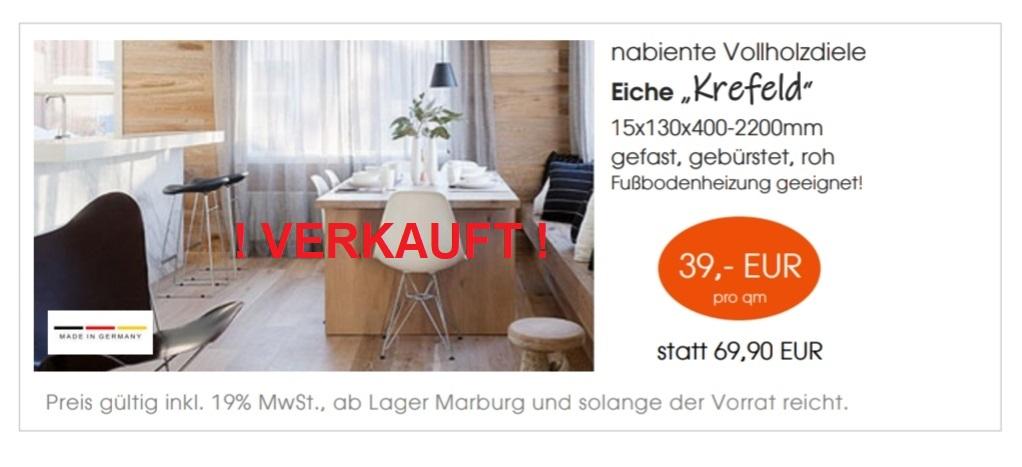 "Vollholzdiele Eiche ""Krefeld"""